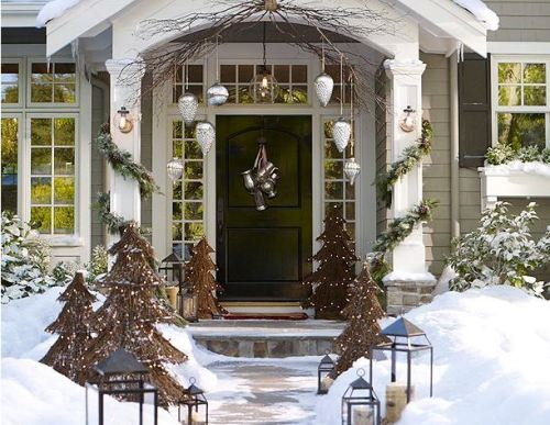 pottery barn christmas catalog | I Heart Old Houses